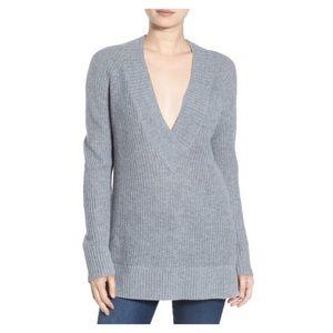 Bp. Nordstrom Deep VNeck Pullover Sweater XXS